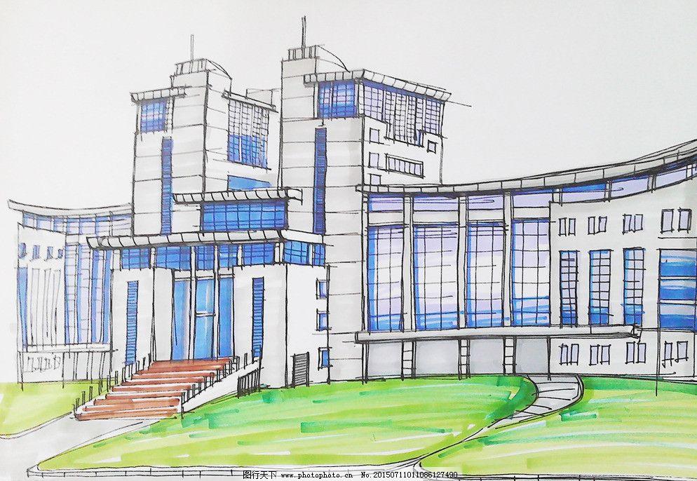 湖北工程学院 湖北工程学院图片免费下载 手绘建筑效果图 孝感学院