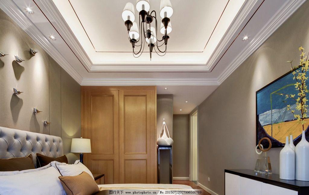 米格空间设计欧式样板间老人房