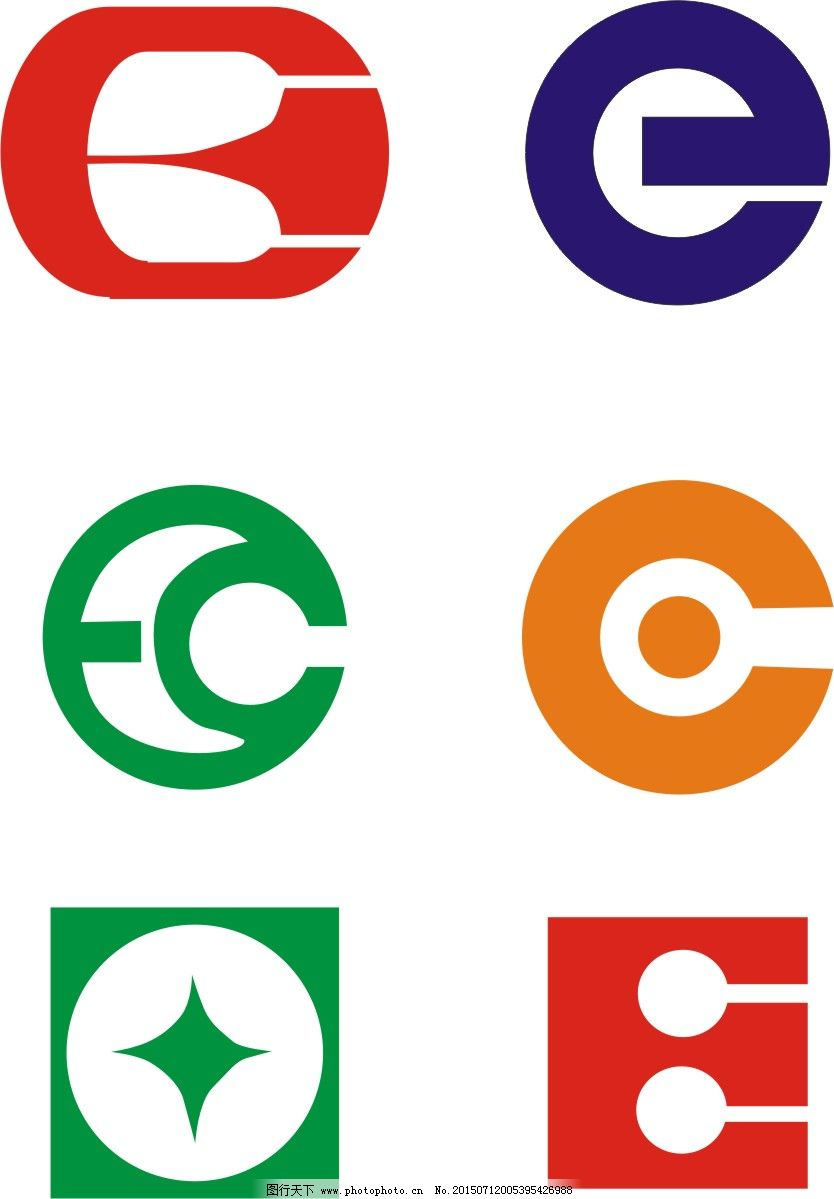 科技LOGO E字母LOGO设计素材 E字母创意设计LOGO E字母变形LOGO设计 字母LOGO设计 电子通迅LOGO设计生物 科技LOGO 矢量图 广告设计