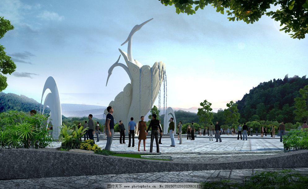 广场雕塑图片免费下载