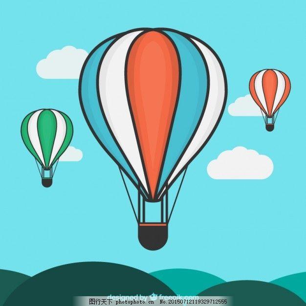 热气球插图