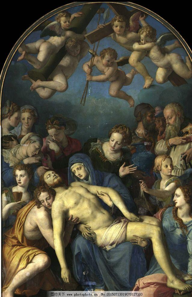 天使 圣母 基督 装饰画 无框画 欧式油画 唯美 油画艺术 古典油画 写实油画 绘画 艺术 油画人物 设计 文化艺术 绘画书法 72DPI JPG