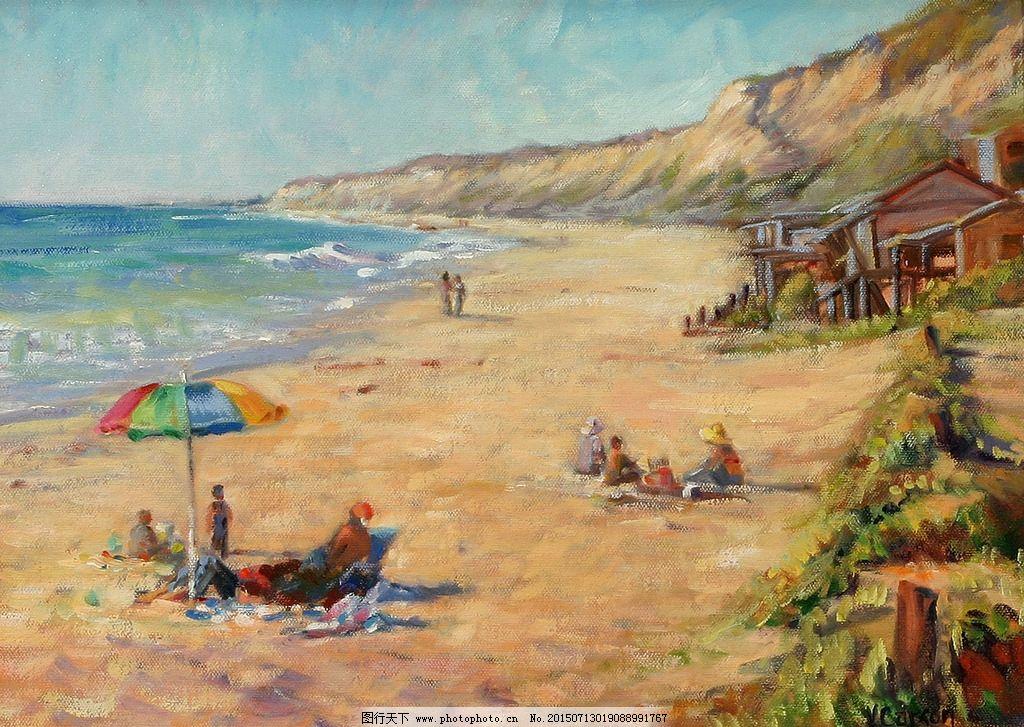 油画 欧式风景油画 欧式油画风 装饰画 壁画 西方油画 油画作品 油画