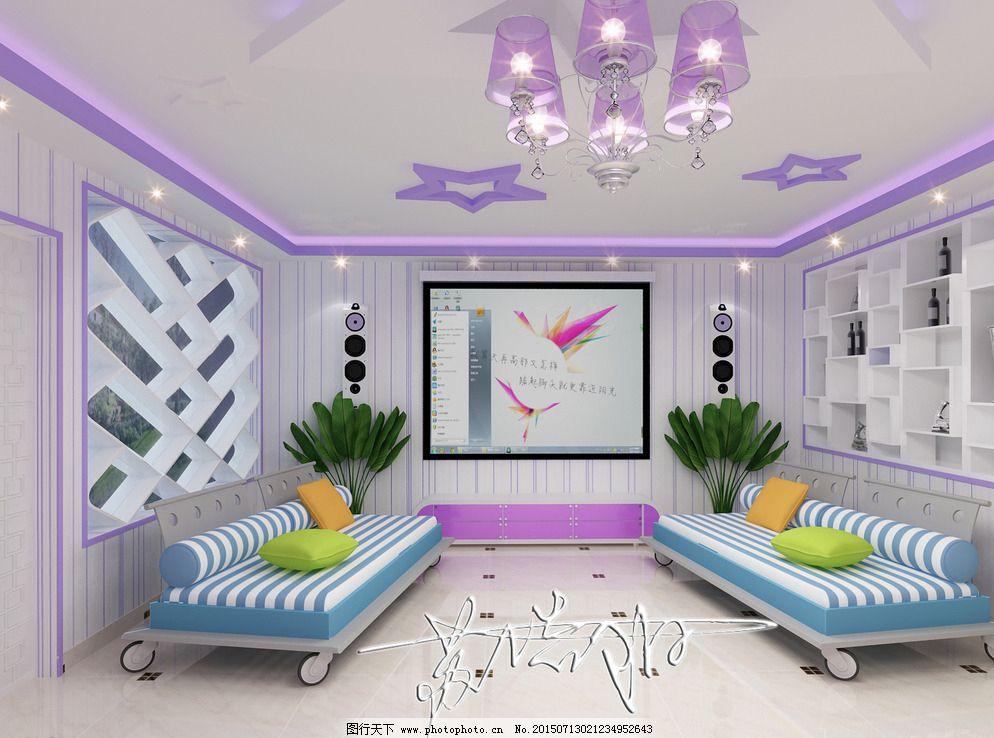 唯美        紫色 紫色 浪漫 室内装修        唯美 设计 3d设计 室内