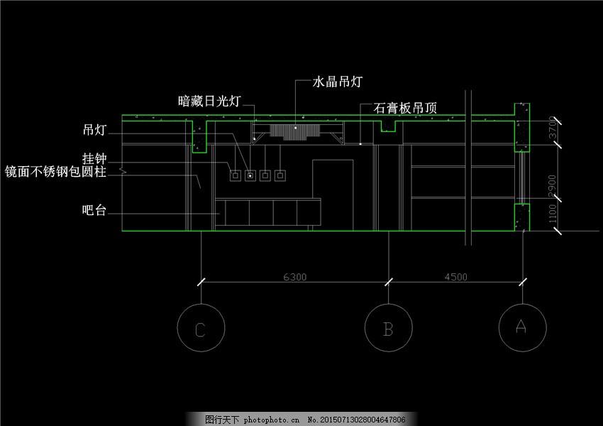 建筑素材cad图纸 cad cad图纸 别墅 工程图 建筑环境设计 建筑施工图