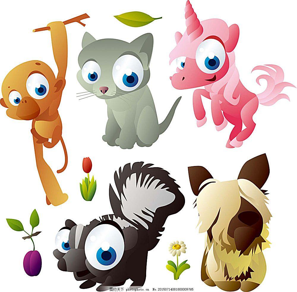q版可爱动物