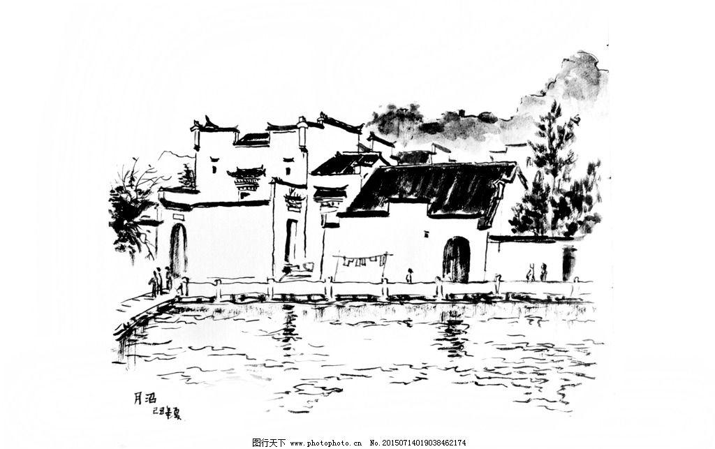 传统中国绘画梅花树