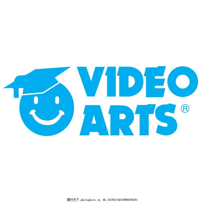 蓝色头像logo设计图片