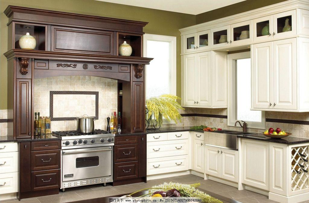厨房装修图片_室内设计_环境设计_图行天下图库