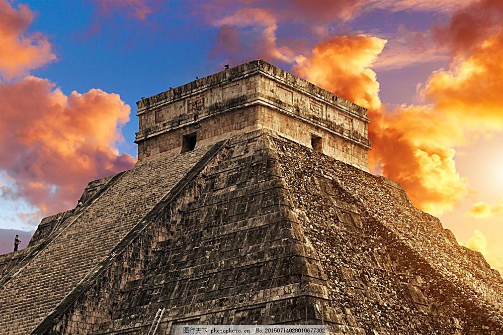墨西哥金字塔 著名建筑遗迹 埃及 风景名胜 建筑摄影 旅游摄影