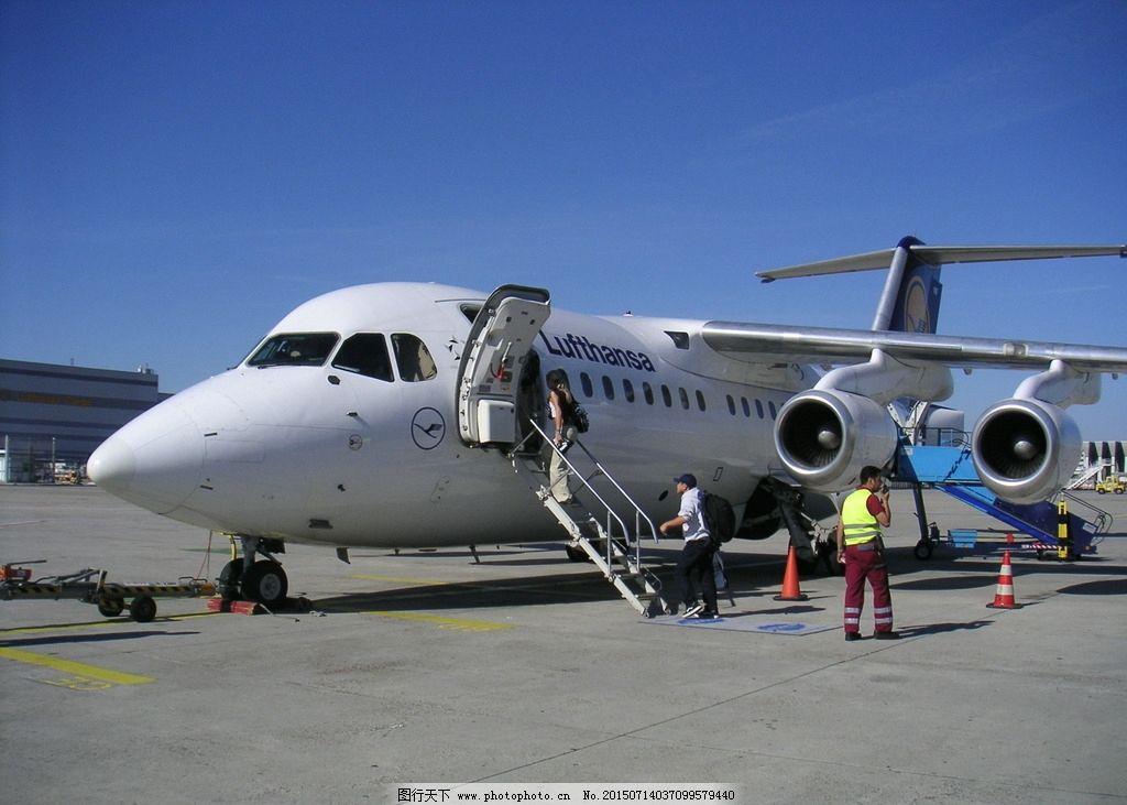 飞机机身 飞机机翼 滑翔浆 停机坪 72dpi jpg 交通 素材图片 天空