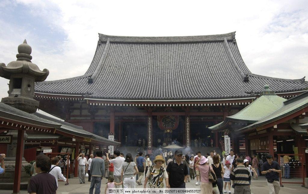 庙宇楼顶结构图