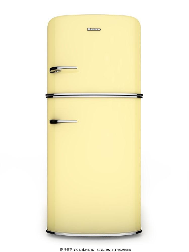 电冰箱摄影 冰柜 家用电器 家电 家具 家具电器 生活百科 图片素材