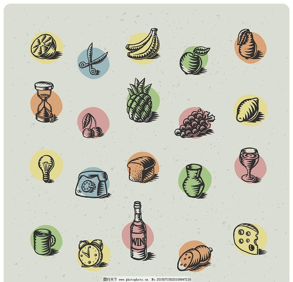 水果简笔画关于香蕉