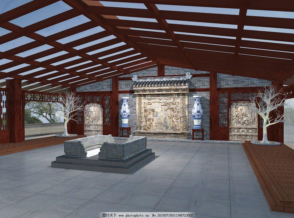 钢结构建筑 设计 环境设计 室内设计 300dpi jpg 家居装饰素材