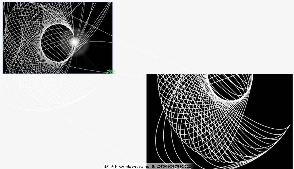 科技 线条 立体 3d 流线 矢量 魔幻 科幻 黑白 花纹 底纹 纹路 底图