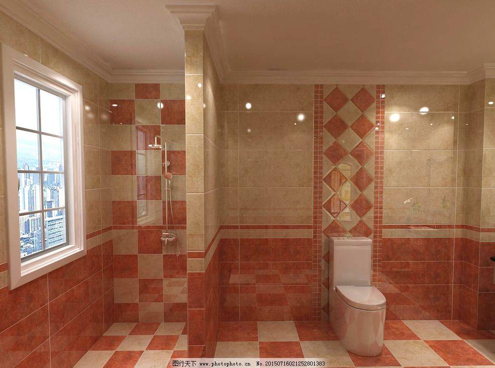 淋浴间        装修 卫生间装修 洗漱间效果图 设计 3d设计 室内模型