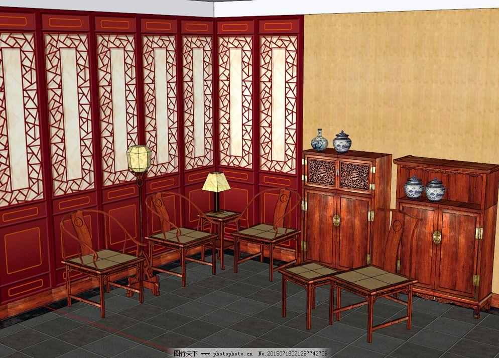 明代家具中式标准家具国家实木家具的图片对图片