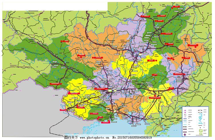 144广西高速公路线路图