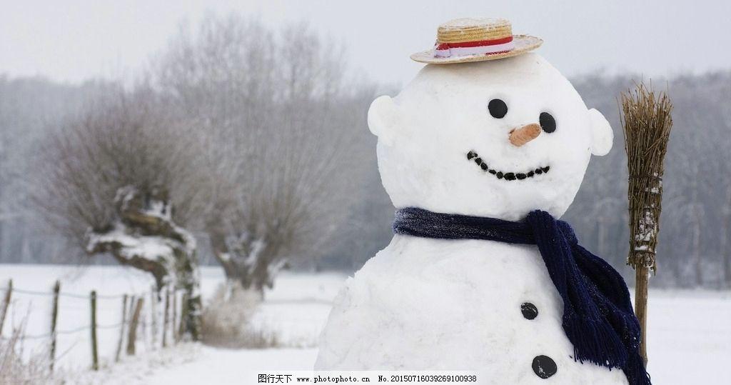 雪人 雪景 下雪 冬天 冬季 雪 摄影 文化艺术 其他 72dpi jpg