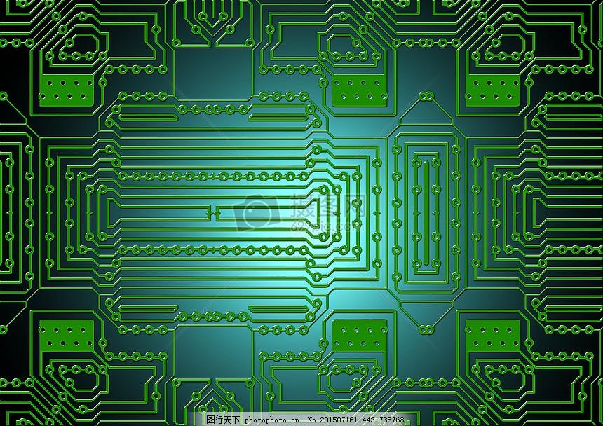 计算机集成电路板