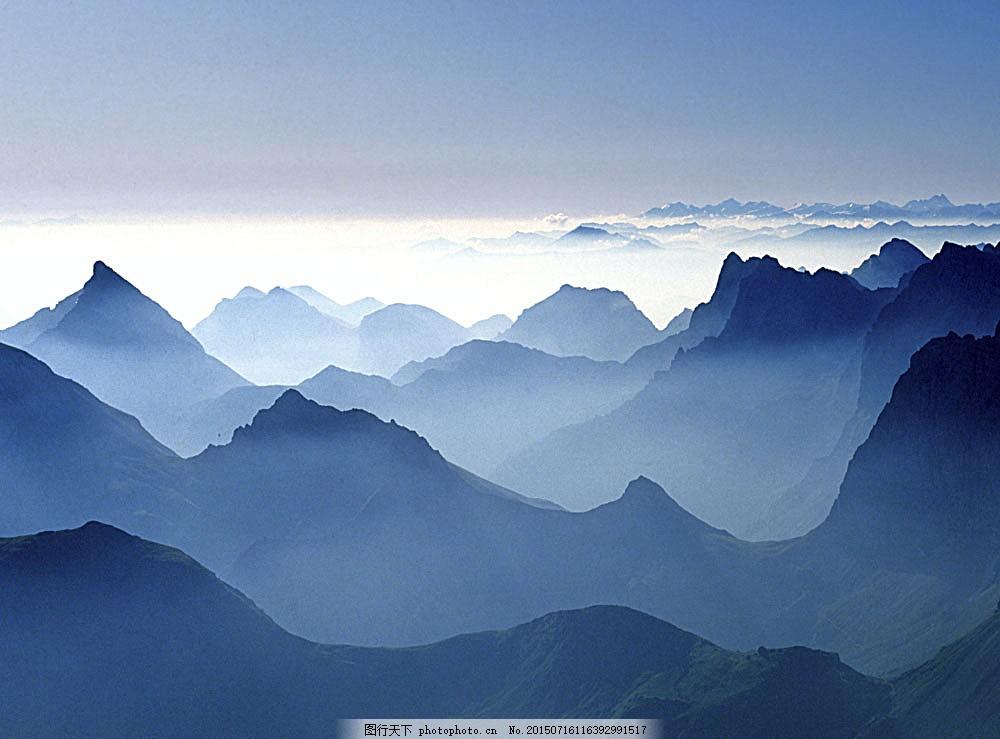 高山风景014 山景 山峰 山峦 美丽风景 生态环境 自然景观