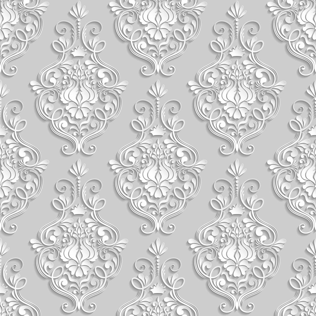 古典雕刻花朵 花纹雕刻 立体花纹 欧式花纹 大气花纹 3d花纹底纹 白色