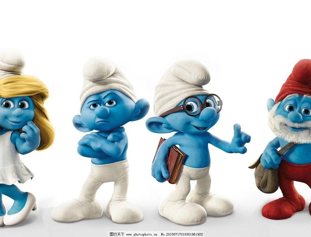 蓝精灵 可爱 动漫 卡通 儿童  设计 动漫动画 动漫人物 72dpi jpg