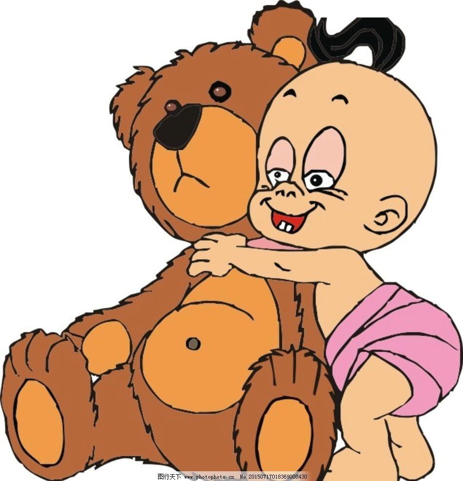 泰迪熊图片_动漫人物_动漫卡通