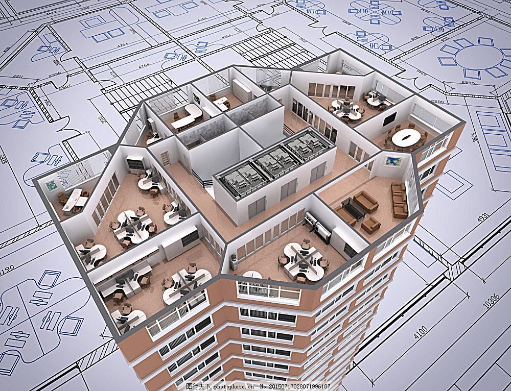 楼房屋顶结构部