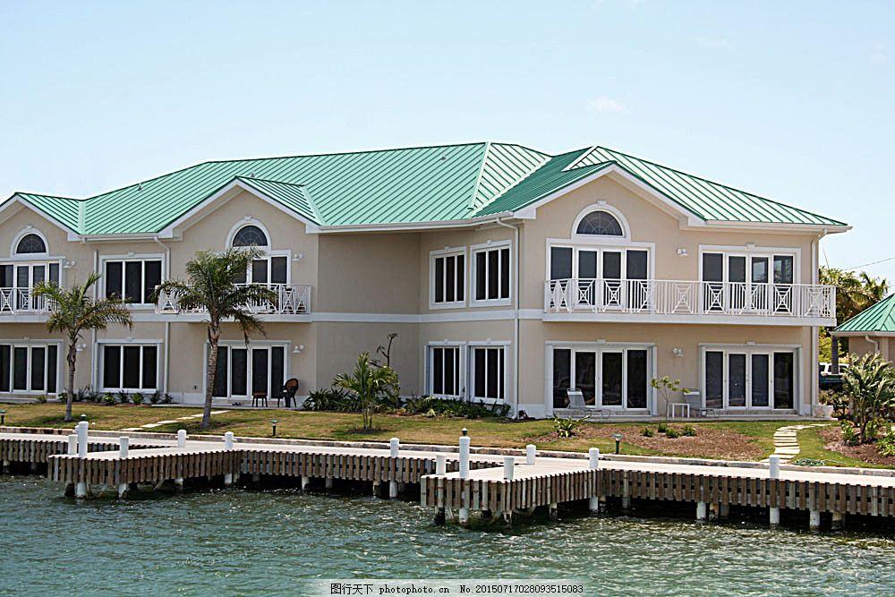 有游泳池的别墅 别墅庭院 欧式别墅 别墅设计 小洋房 豪华别墅