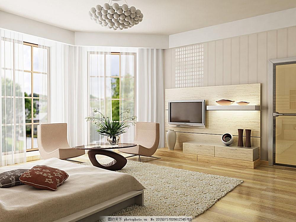 现代风格室内装饰效果图 时尚家居 室内装潢 室内设计效果图 装潢设计