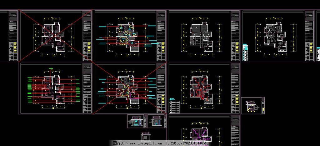 平面室内cad 室内设计cad 装潢设计cad 平面设 室内平面图 设计 环境