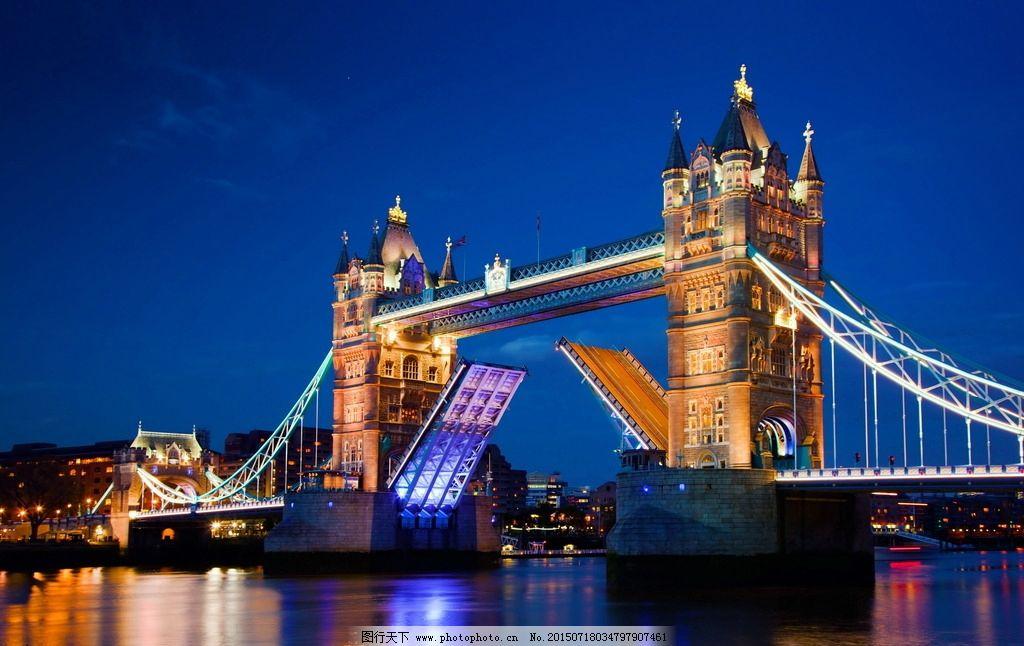 伦敦桥 塔桥 伦敦塔桥