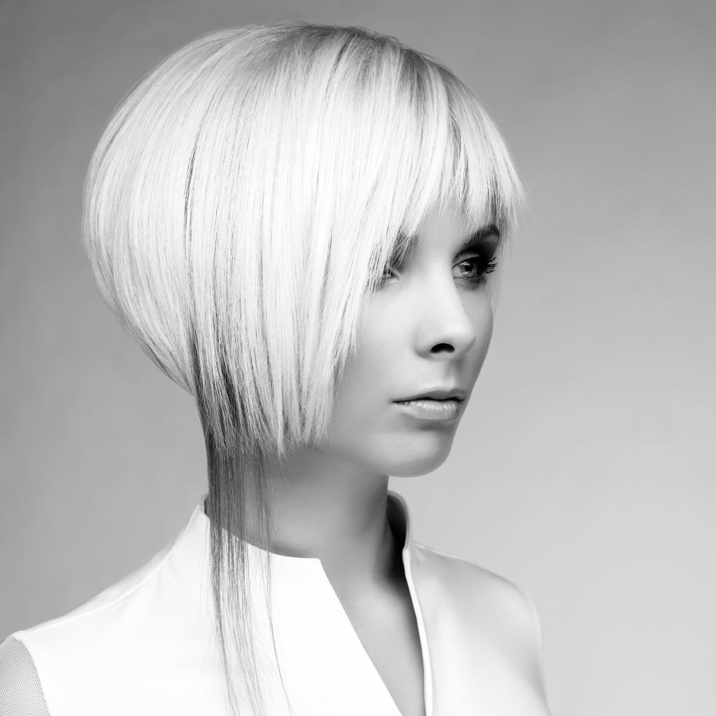 短发 金发美女 美发模特 发型 头型 美发造型 性感美女 欧美女性 外国图片