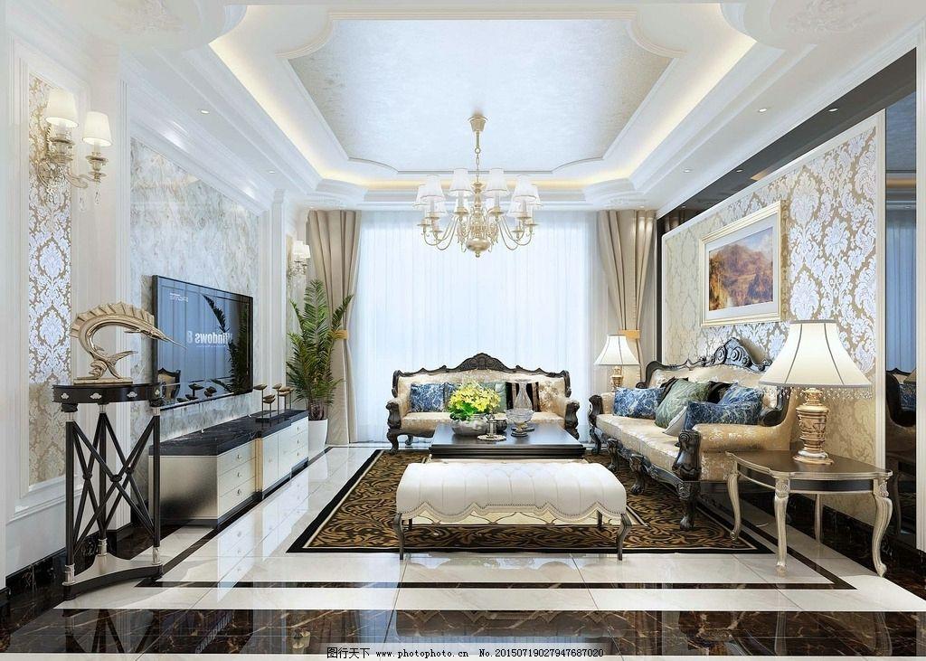 欧式             地砖 拼花 时尚 奢华 经典 电视背景 沙发背景