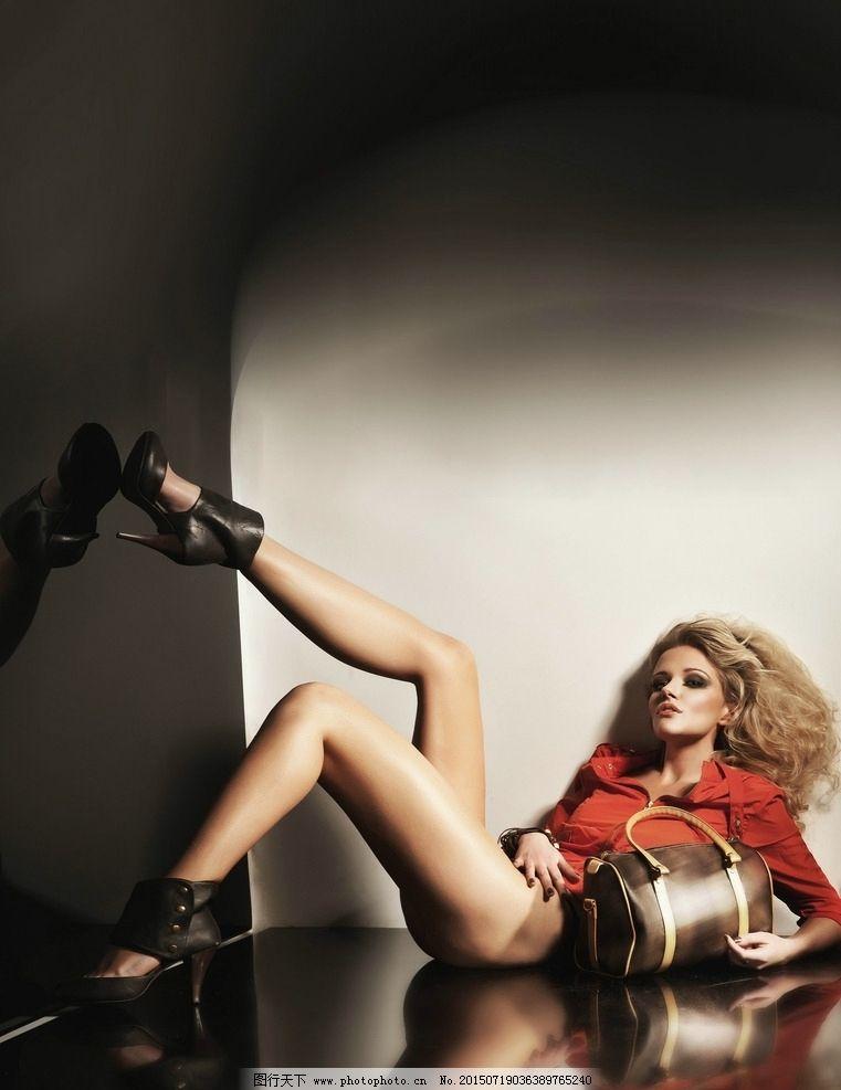 欧美发型模特海报图片
