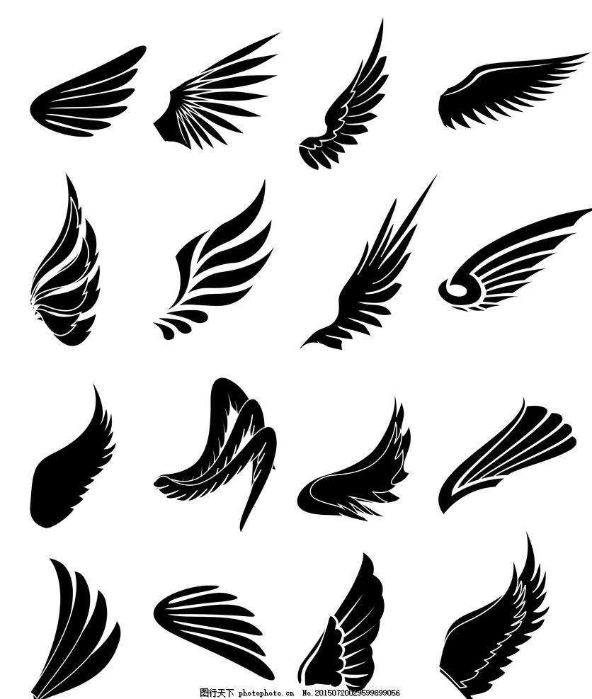 羽毛,二层翅膀翅膀素材设计鸟类翅膀翅膀翅临街商铺天使设计图图片