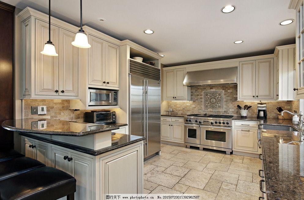 瓷砖 欧式厨房 欧式风格 厨房装修 欧式      装修 橱柜 柜子 壁柜