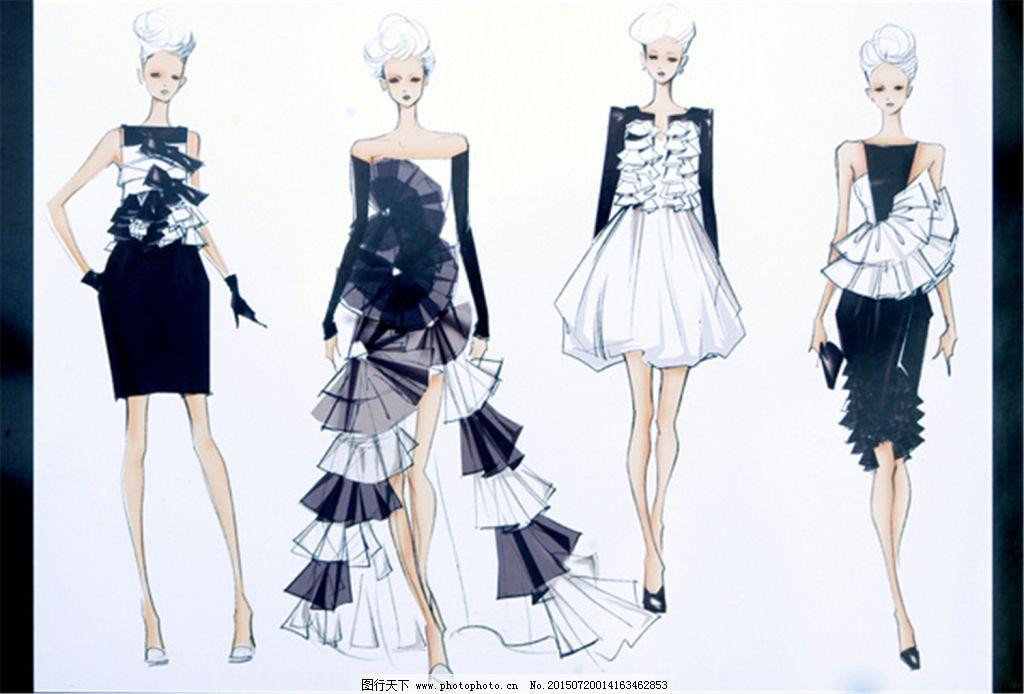 美丽手绘服装设计一