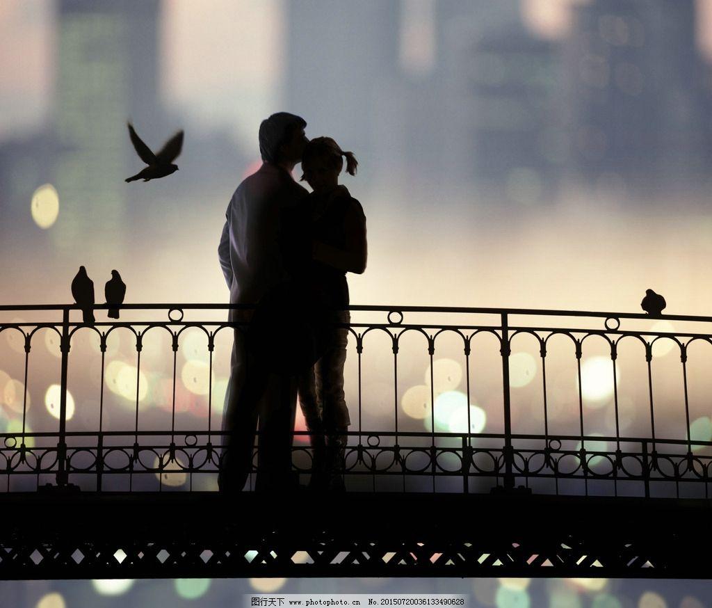 生活  桥上 情人 情侣