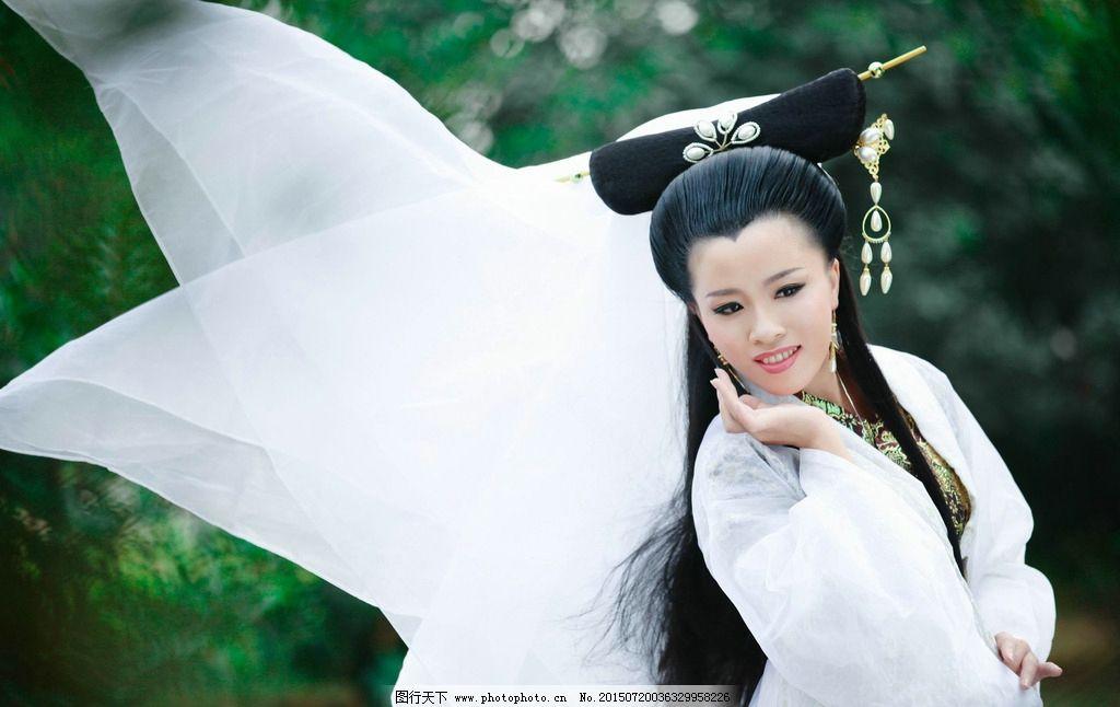古装美女白素贞图片_明星偶像_人物图库_图行天下图库