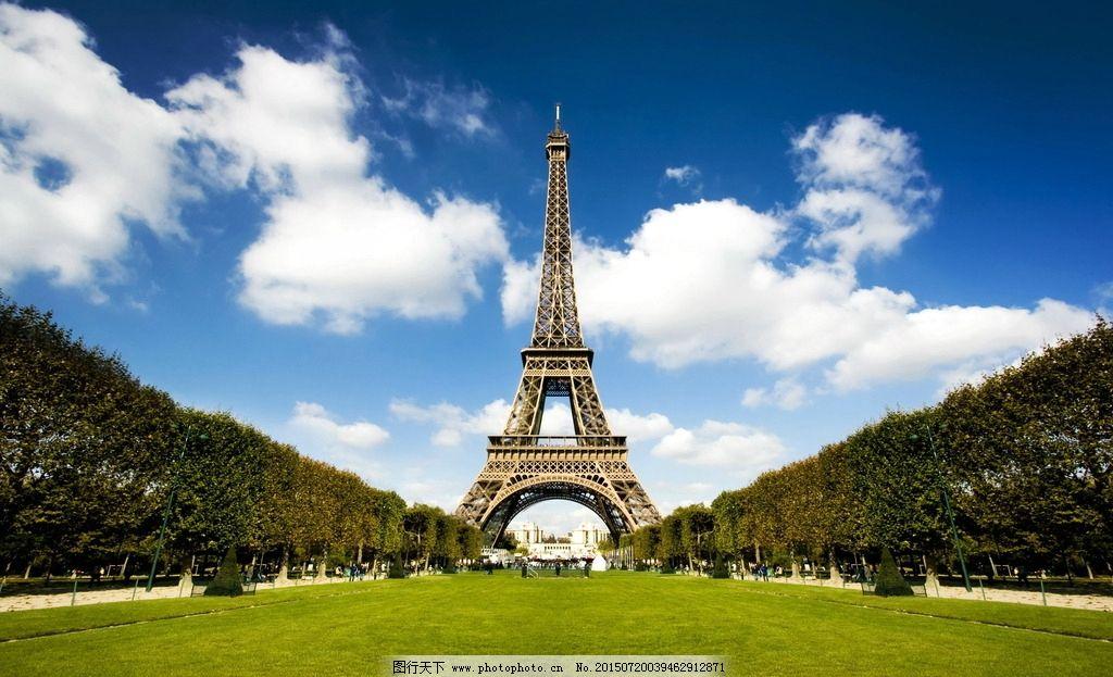 巴黎铁塔图片_建筑摄影