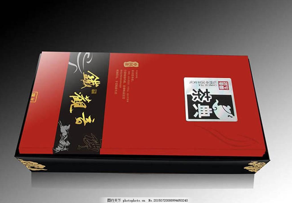 茶典铁观音茶叶包装盒设计cdr素材图片
