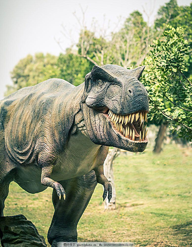 霸王龙 霸王龙图片素材 野生动物 恐龙 动物世界 陆地动物 生物世界