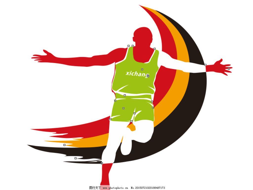 博乐logo 马拉松 标志 运动 西昌马拉松 设计 标志图标 其他图标 cdr