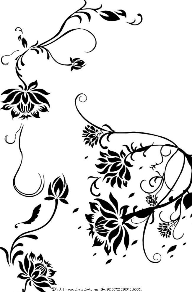 花纹装饰图案图片