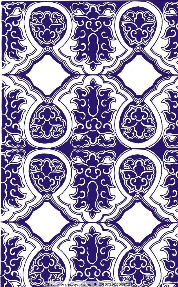 底纹 花纹 青花瓷 中国风 装饰底纹 花纹 设计 底纹边框 花边花纹
