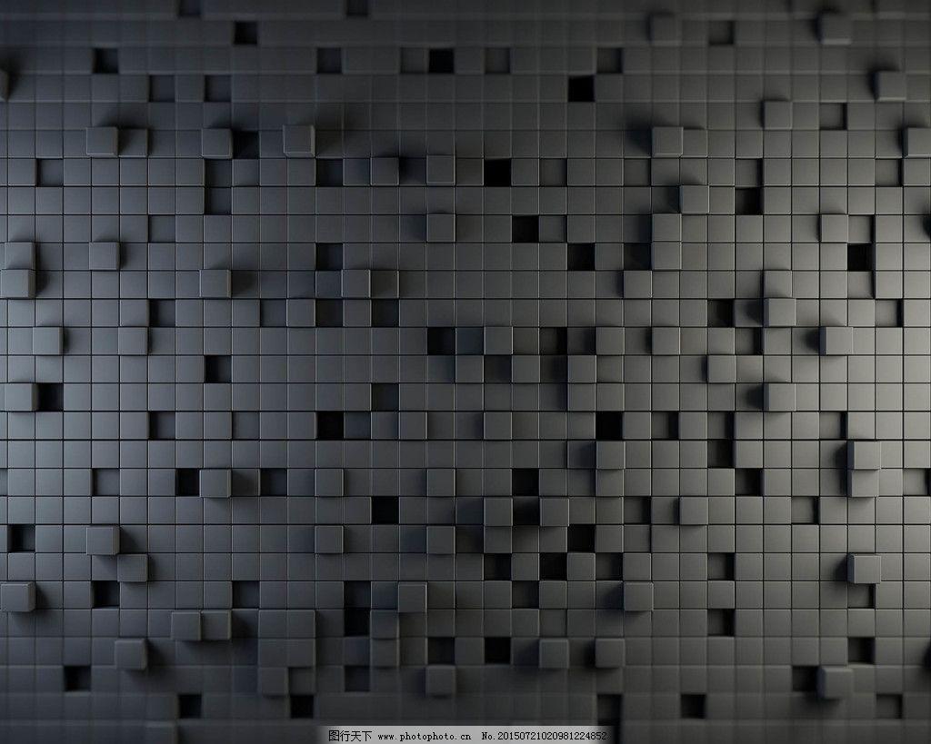 灰色炫酷马赛克格子创意背景免费下载 黑 设计 炫酷 设计 炫酷 黑图片