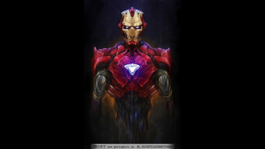 钢铁侠免费下载 背景图 超人 钢铁侠 黑暗 酷炫 超人 钢铁侠 黑暗图片